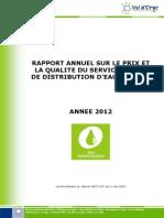 Rapport_CAVO_2012_qualité&prix_ServiceEaupotable