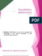 Relaciones Sexuales y Adolescencia