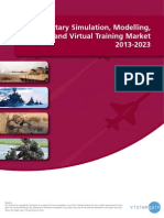 The Military Simulation, Modelling, And Virtual Training Market 2013-2023