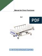 Manual Cama Manual s2 de Hebei Pukang Medical