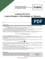 Farmac Utico Programa Controle Biol Gico e Microbiol Gico de Alimentos