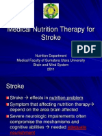 K.22 Medical Nutrition Therapy for Stroke
