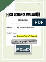 Examen - BEGINNERS5