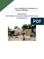 socioeconomicsconditionsofchristiansinlahore 1