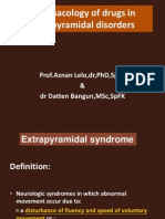 K.14 NewBMS 2011,Pharmacology of Extrapyramidal Disorders