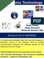 E- Business Technology