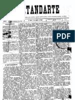 Jornal O Estandarte n. 1, de 7 de janeiro de 1893