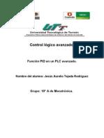 Funcion PID en Un PLC Avanzado