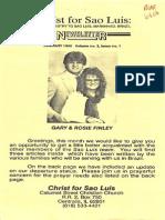 Finley Gary Rosemarie 1990 Brazil