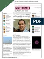 15-10-2013 'Busca José Elías consenso con CONAGUA para eficientar trabajos sobre canal Rodhe'