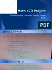 math 170 project1