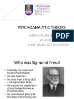 Psikoanalitik