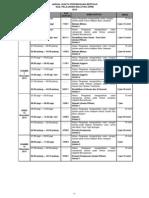 SPM 2013 Exam Timetable / SPM Date  (Jadual Waktu SPM 2013 / Tarikh SPM 2013)