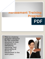 harassment training program snapshot 1