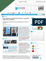 Expo Expo2015contact.virgilio.it 16 Ottobre 2013