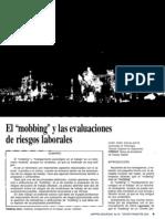 El Mobbing y Las Evaluaciones de Riesgo Laborales