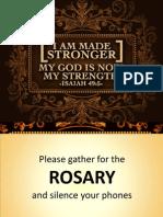 Rosary Slides