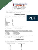 Guía 3 Ingles Pronombres Personales