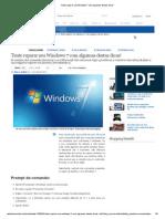 Tente Reparar Seu Windows 7 Com Algumas Destas Dicas!