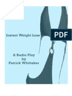 Instant Weight Loss - a radio play