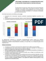 Informe Reforma Local