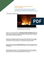 15-10-2013 Puebla Noticias - El Gobernador Rafael Moreno Valle Coordina Acciones Por Contingencia Explosiva en Chachapa