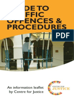 Guide to Traffic Offences and Procedures - October 2013
