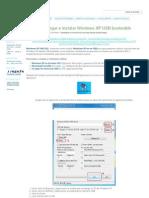 Como Descargar e Instalar Windows XP USB Booteable - Proyecto Byte