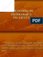 Proceeding de Fiziologie Hepatica