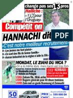 Competition du 25 07 2009