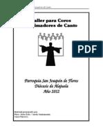 Curso Coros y Cantores 2012