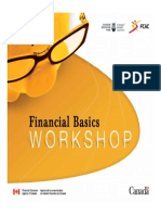 3 Financial Basics Presentation Deck