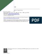 ACKERMAN Law Economics Legal Culture