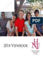 Holy Names University 2014 Viewbook