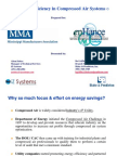 Compressed Air Energy Savings Projects