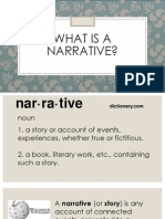 what is a narrative