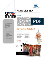 UK Go Teacher Ecuador Sept/Oct Newsletter