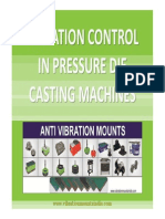 vibration Control in Pressure Die Casting Machines