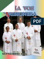 La Voz Misionera Septiembre