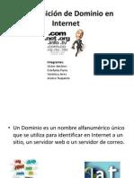 Dominios de Internet Exposicion