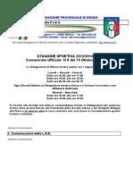 Comunicato 8 Monza