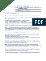 LEGEA 351-2001 AMENAJARII TERITORIULUI