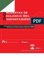 Manual de Encuestas de Vigilancia de Comportamiento VIH