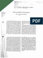 Eichler B - Nuzi and the Bible