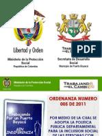 ORDENANZA OO5 SOCIALIZACION
