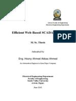 Eifficient Web-Based SCADA System