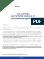Conventions reglementées en France