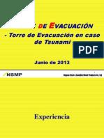 Torre de Evacuacion en Caso de Tsunami