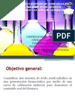Ac. Salicilico Analisis