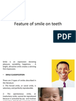 Feature of Smile on Teeth